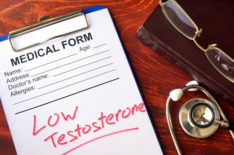 What are the symptoms of low testosterone in men