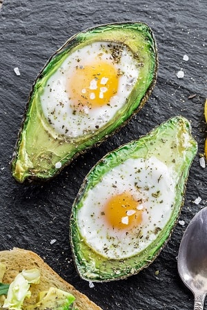 Meal plan for [ean muscle should include avocado and eggs