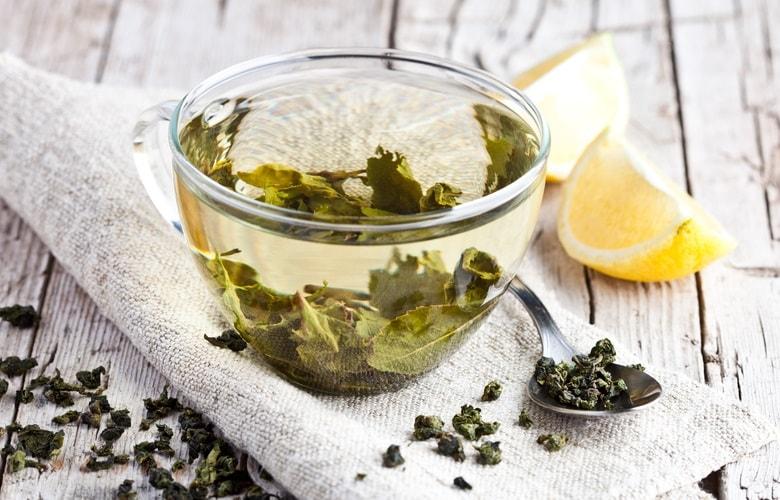 Green tea is one of the ingredients