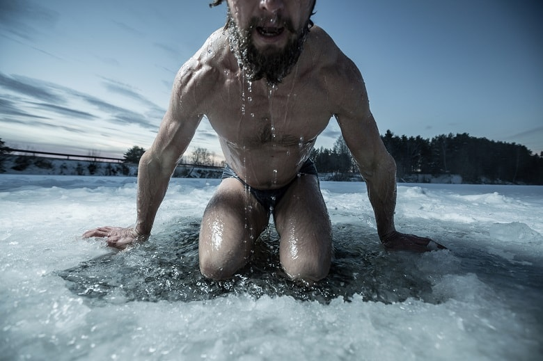 Benefits of ice bathing