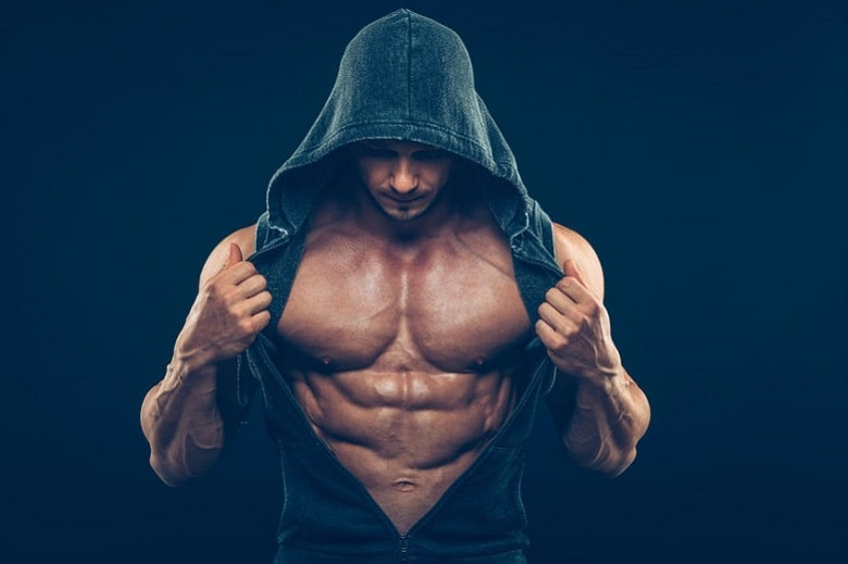 Testosterone helps to build muscle mass