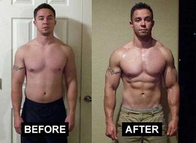 Clen before and after use results