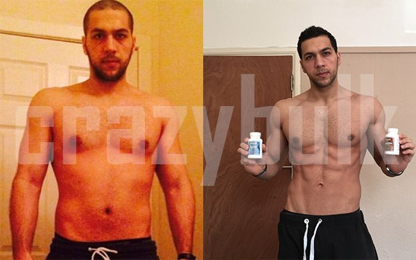Clenbuterol before and after picture