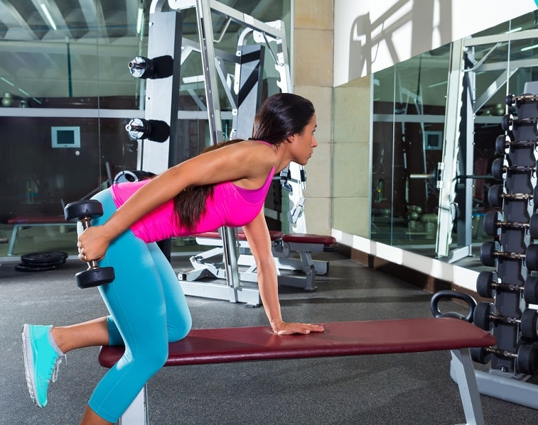 Benefit of the workout for building muscle