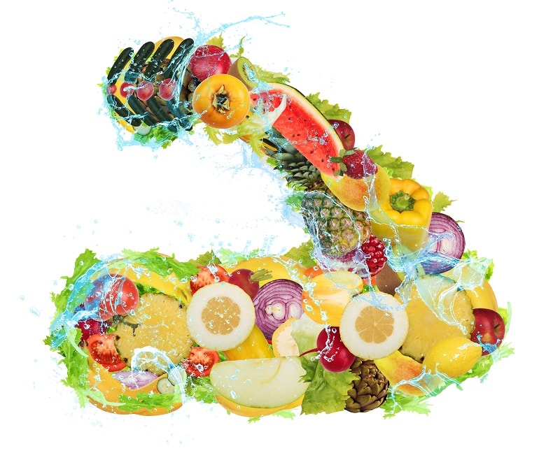 Nutrition from fruit and vegetables