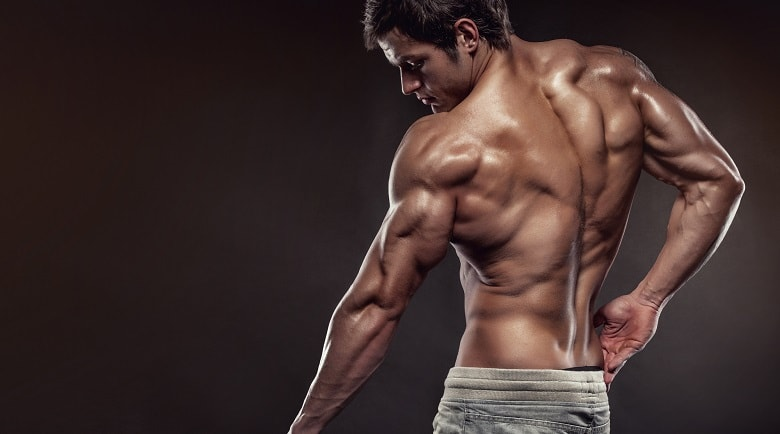 Burn fat to show muscle