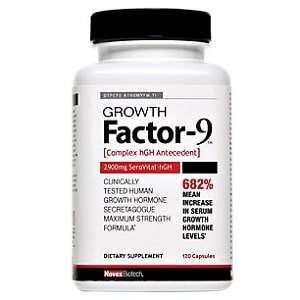 GrowFactor 9 - single bottle