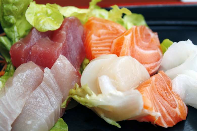 Raw Fish-Sashimi