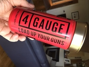 4 Gauge pre-workout amatour picture