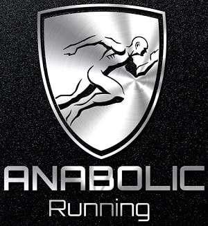 Anabolic running logo