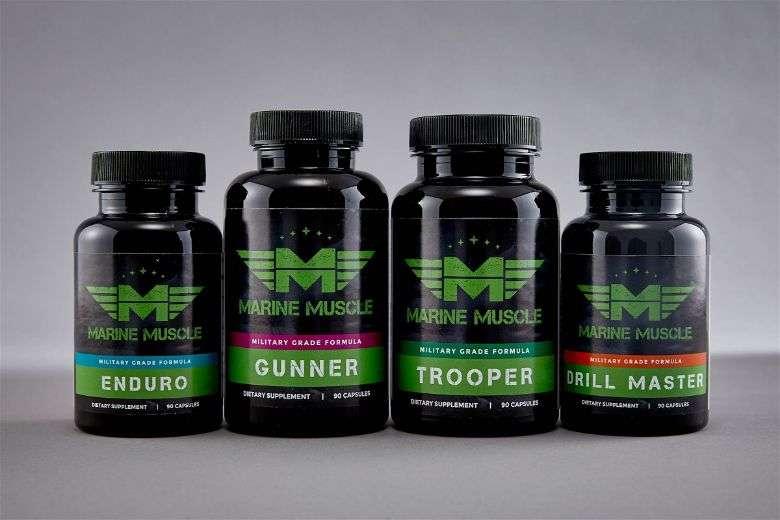 Marine Muscle bulking stack