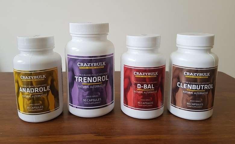 My Crazy Bulk supplements