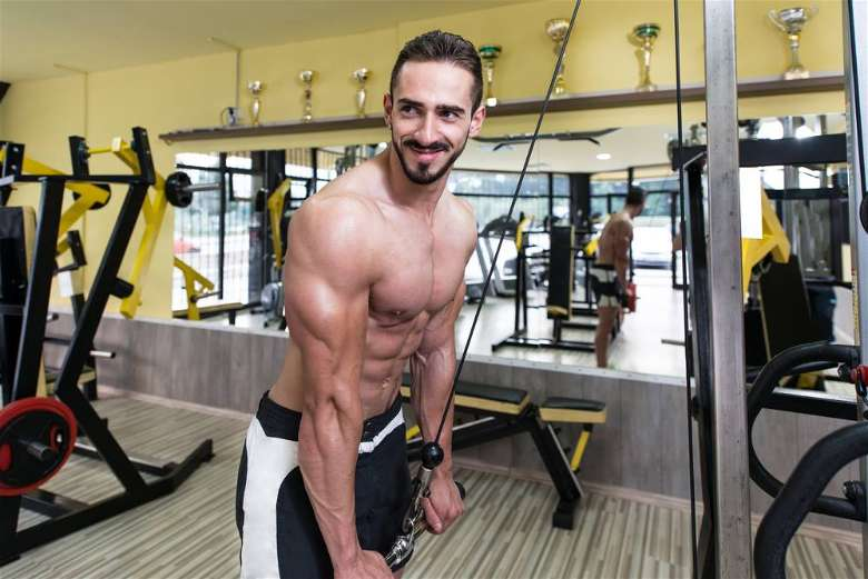 Pushdowns can help making stronger triceps