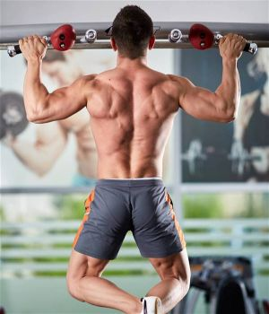 Wide grip pull up is one the best bodyweight back exercises