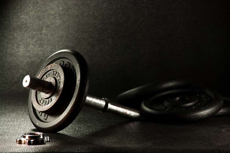 Barbells for bicep exercises