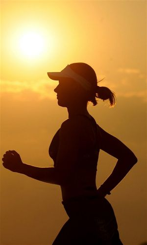 Light jogging is a great pre workout warm up