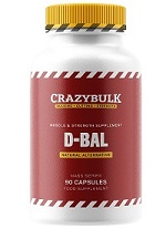 New D-Bal bottle