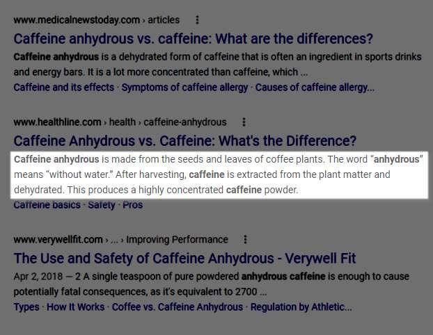caffeine anhydrous dust x blackstone labs